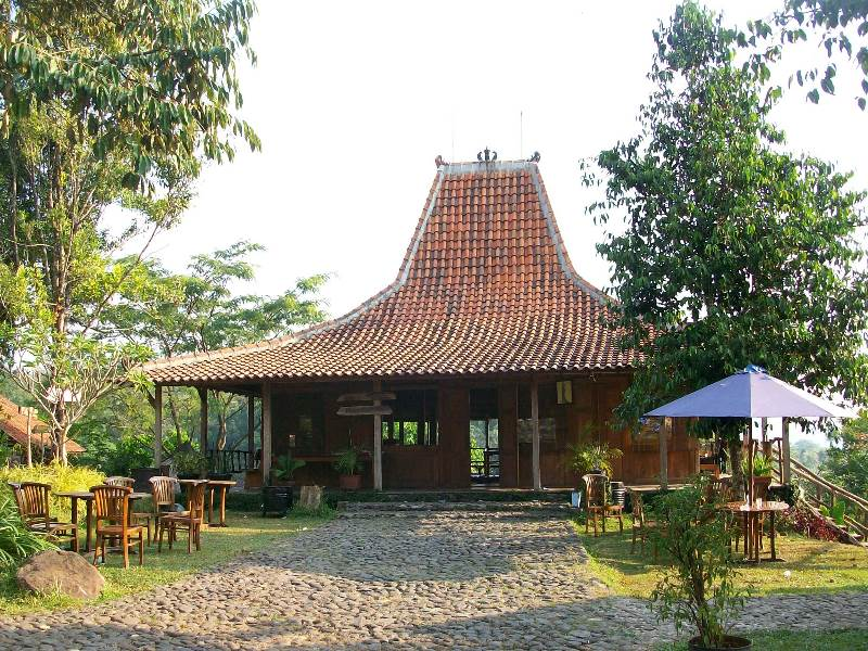 Rumah Tradisional Jawa Joglo